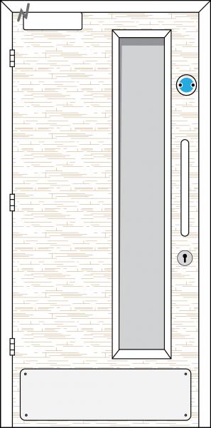 Doorset 12-HO (Hold Open)