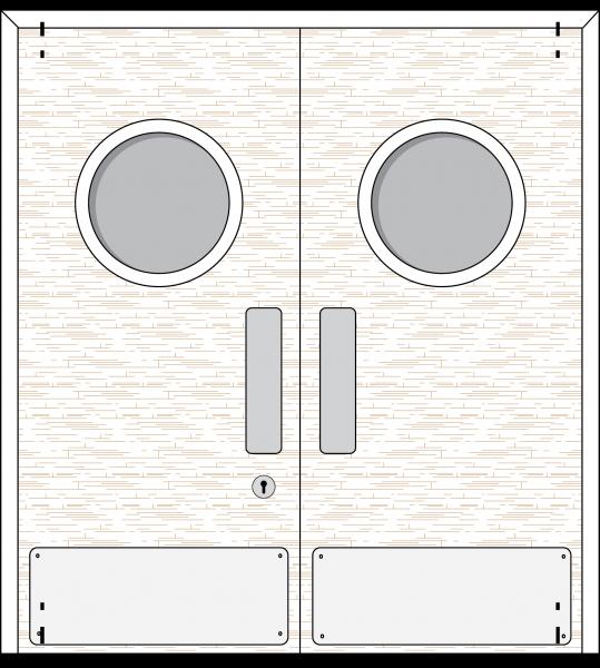 Doorset 26-PH (Port Hole)