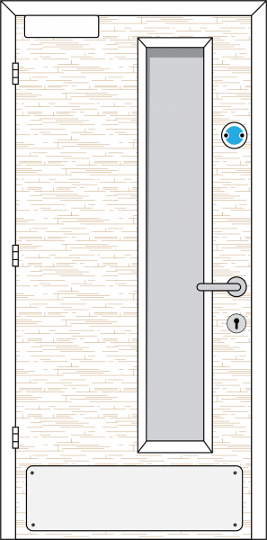 Doorset 31-NL (Nightlatch)