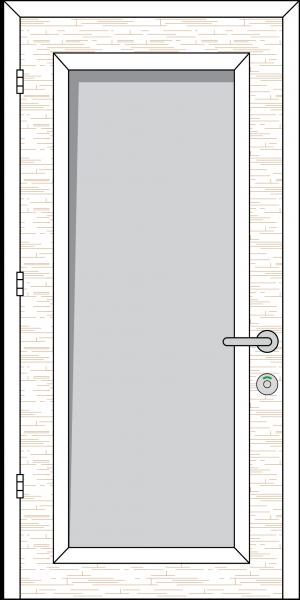 Doorset 02-FV (Full Vision Panel)